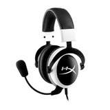 HyperX Headset Cloud Pro Gaming - KHX-H3CLW - Branco e preto 2547