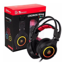 Headset Thermaltake Cronos Riing Rgb 7.1 Real Gamer Pc