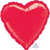 globo corazon 45cm desinflado apto helio/aire