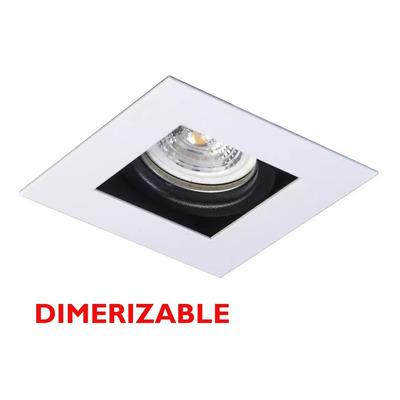 Spot Embutir Antideslumbrante Blanco Dimerizable Gu10 7w