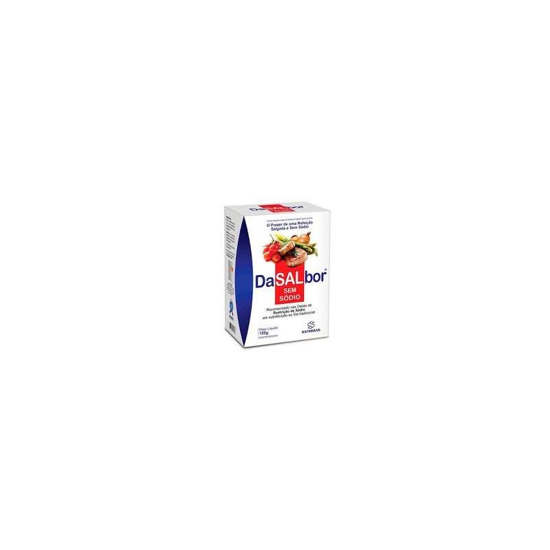 DaSalbor (Salgante Cloreto de Potassio) - 100g - Sanibras