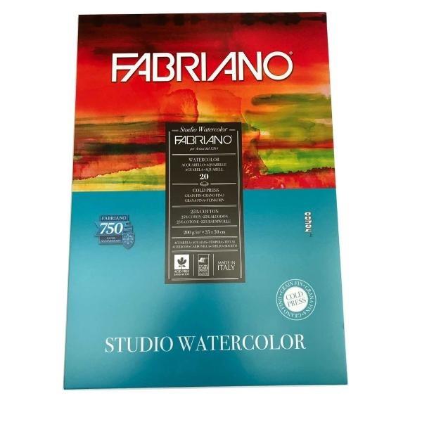 BLOCK PARA ACUARELAS FABRIANO x20hj/200g/m²