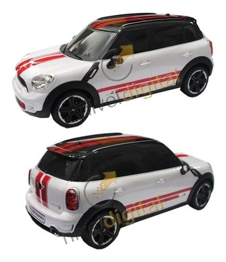 Auto Radio Control Mini John Cooper Works Replica Recargable