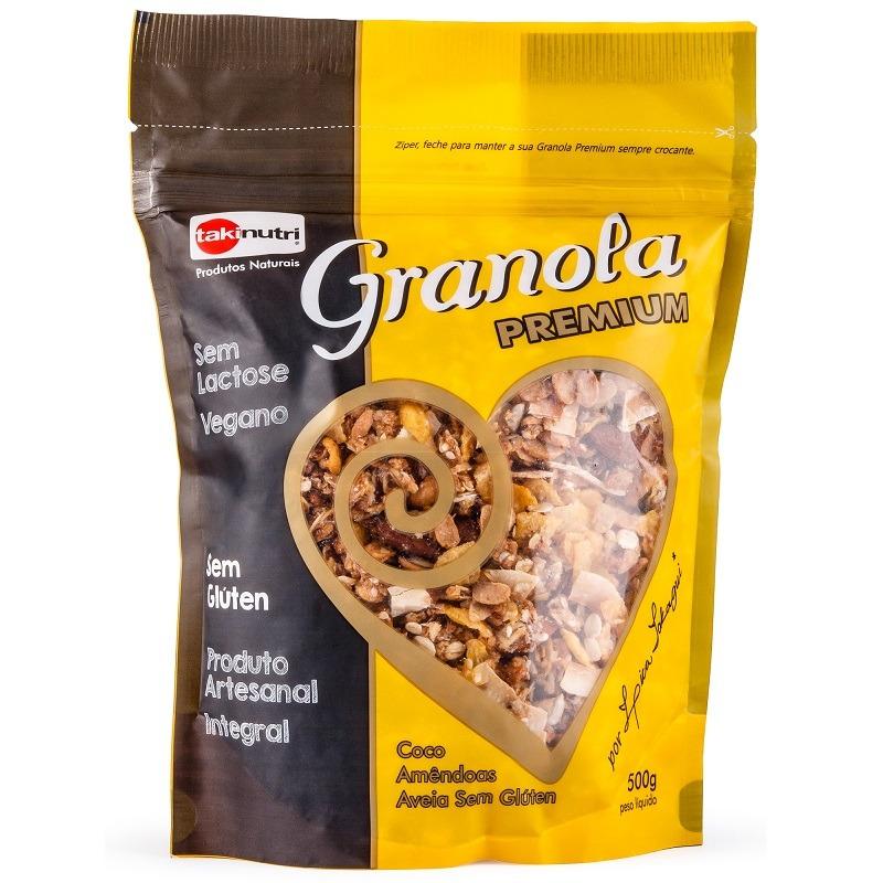 Granola Premium - 500g - TakiNutri