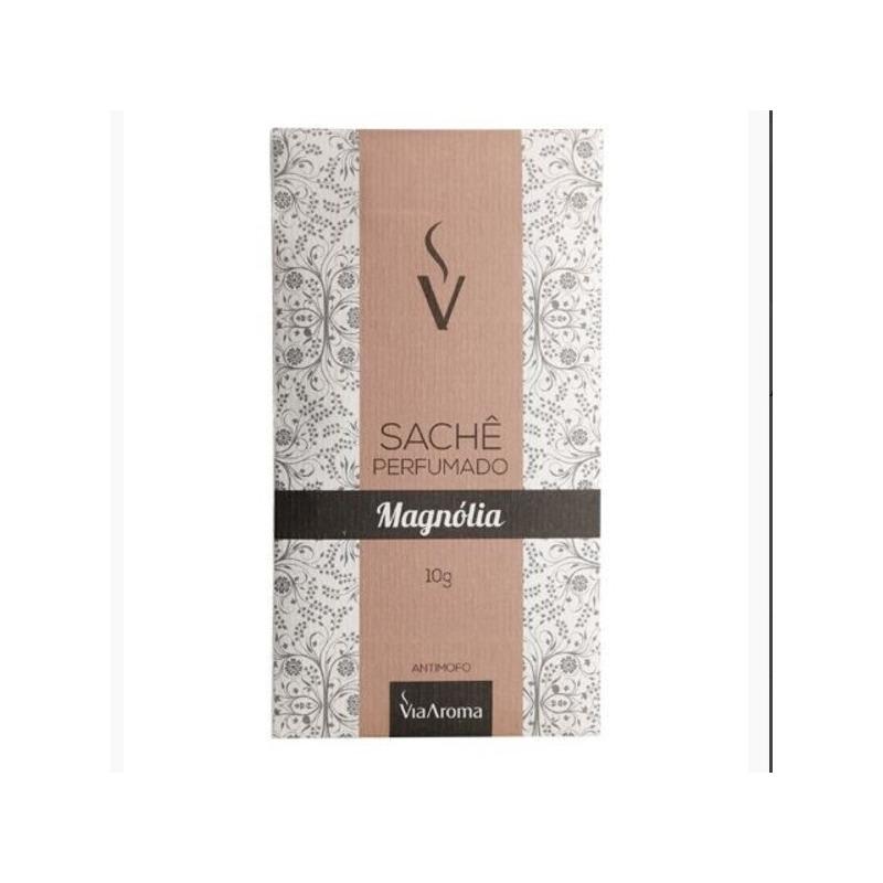 Sache Perfumado - Aroma Magnólia - 10g - Via Aroma