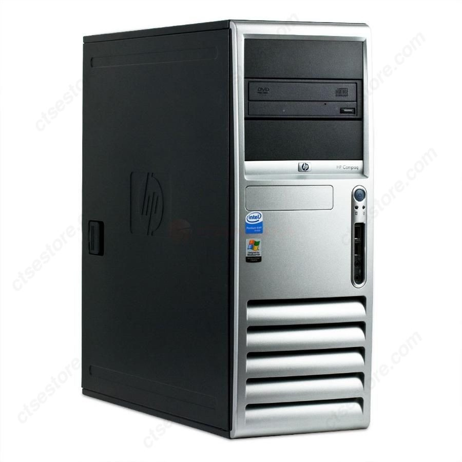 Super Pc Cpu Dell Hp Intel 3.0ghz 2gb Ram Disco 80gb Wi Fi