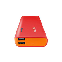 Power Bank ADATA PT100 10000MAH Rojo y Naranja