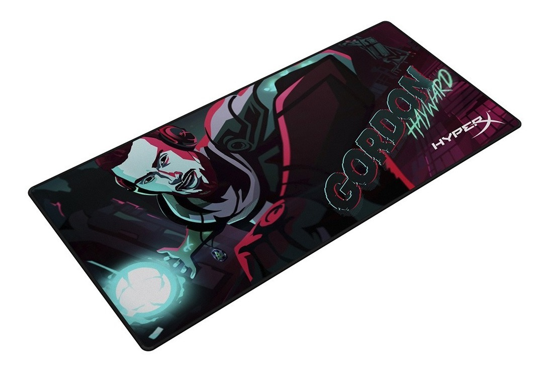 Mousepad Gamer Hyperx Fury Pro Mouse Pad Extra Large Xl Borde Tejido Oficial