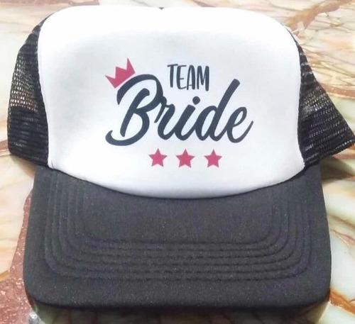 7614d5b2d6ff Gorra Para Fiestas Estampada Team Bride Squad Bitches Groom en venta ...