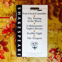William Shakespeare.  FOUR GREAT COMEDIES.