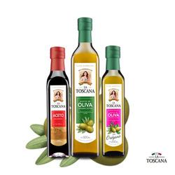 1 Aceite De Oliva 500 Ml, 1 Aceto y 1...