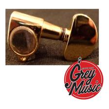 Clavijas Para Guitarra Sinew M-3003 Gd  Tipo Grover