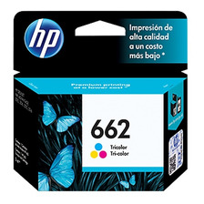 Cartucho Tinta Hp 662 Color Original Para 2515 3515