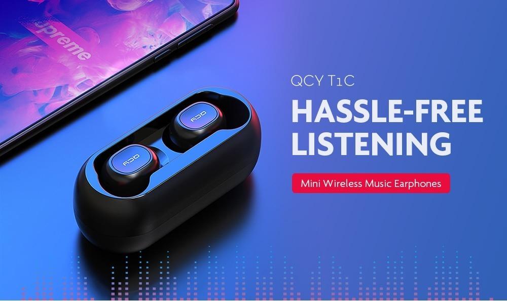 Auriculares Bluetooth Qcy T1 Tws Original 2019 Inalambrico