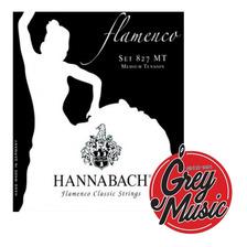 Encordado Hannabach 827mt Flamenco Media Tensiòn Nylon