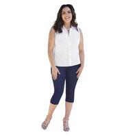 Pantalón Azul Mezclilla Corto 014514