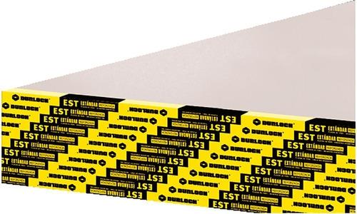 Placa Durlock Est 9mm 1.20x2.40m Distribuidor Oficia