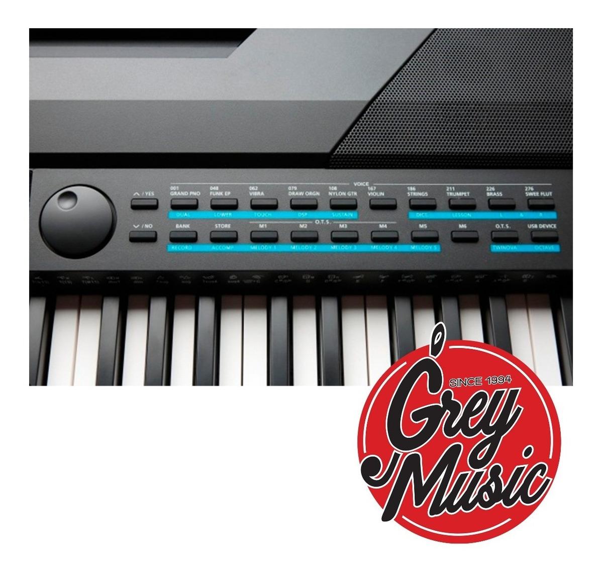 Piano Digital Kurzweil Ka-120 88 Teclas Notas Sensitivo Hammer