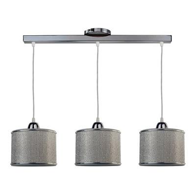 Colgante 3 Luces Strass Electro Deco Moderno Apto Led E27