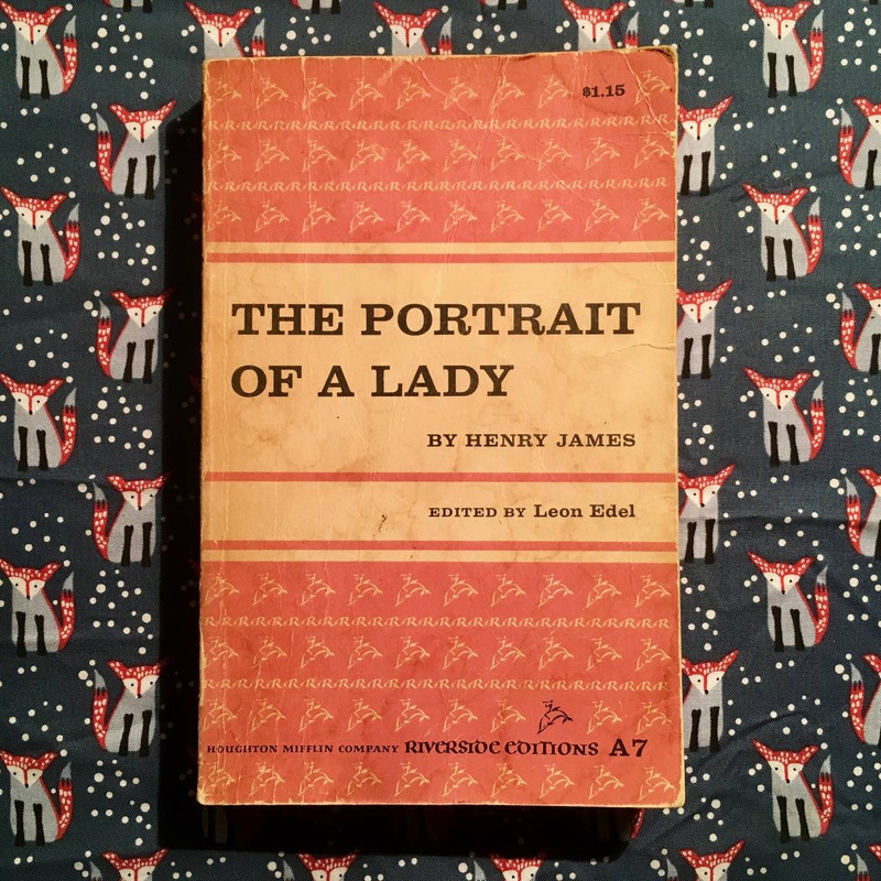 Henry James.  THE PORTRAIT OF A LADY.