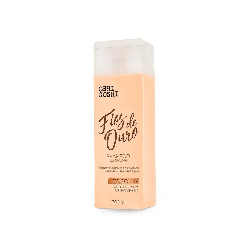Shampoo BB Cream Fios de Ouro - 300ml - Oshi Goshi