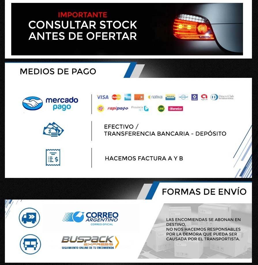 Caño Tubo CALEFACCION Focus NAFTA  ALTERNATIVO