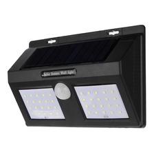 Panel Reflector Led 18w Solar Con Sensor De Movimiento