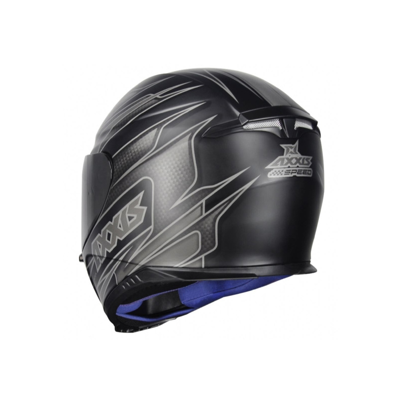 Capacete Axxis Eagle Speed Cinza