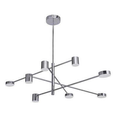Colgante 8 Luces Roxi Led 70w Deco Diseño Moderno Mg