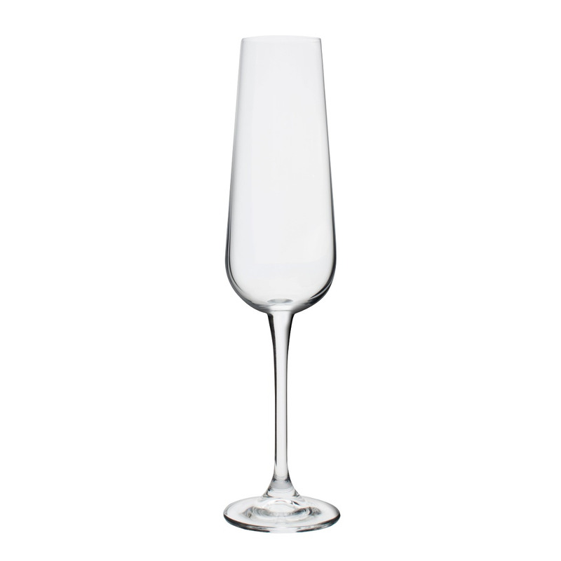 Jogo 6 Taças Cristal Champagne 220ml Amundsen 7557987