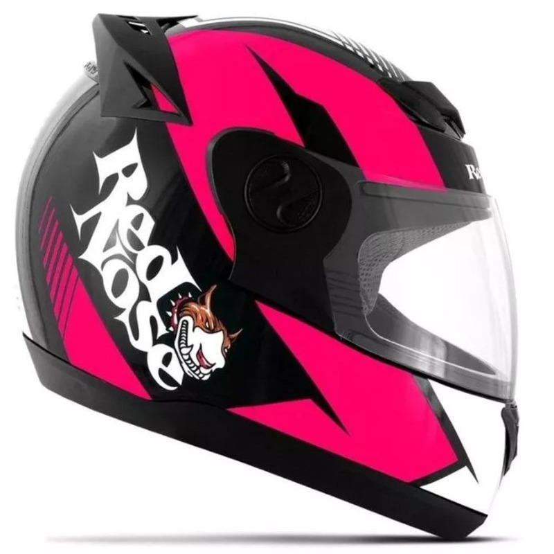 Capacete Pro Tork Evolution G6 Red Nose Rosa Fosco
