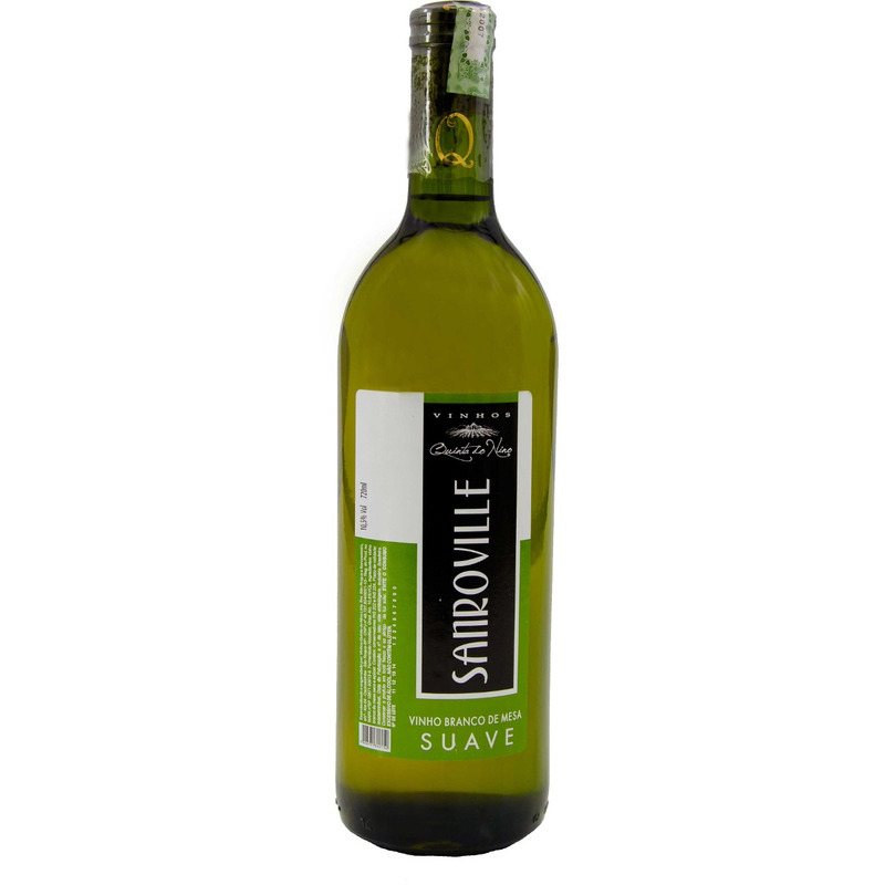 Vinho Sanroville Branco Suave Niagara 750ml - Quinta do Nino