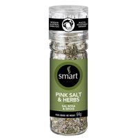 Mix de Sal e Ervas com Moedor - 64g - Smart