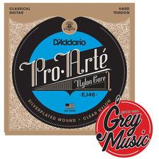 Encordado De Guitarra Clásica Daddario Ej46 Pro Arte Hard