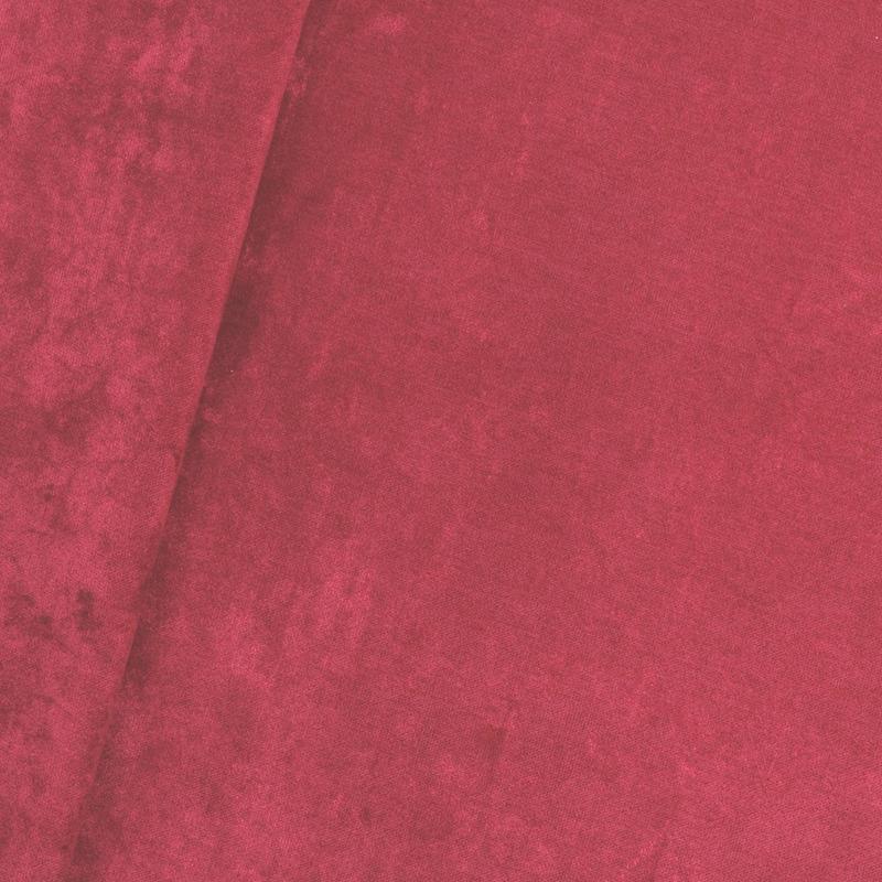 Tecido veludo rústico cereja Coleção New York IV