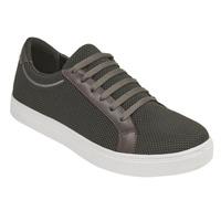 Sneakers gris oscuro textura 018564