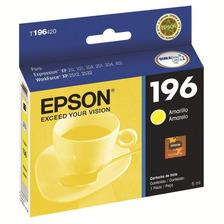 Cartucho Epson 196 Amarillo Original T196420 Powerzon