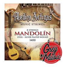 Encordado Mandolin Medina Artigas 1400 Plateado