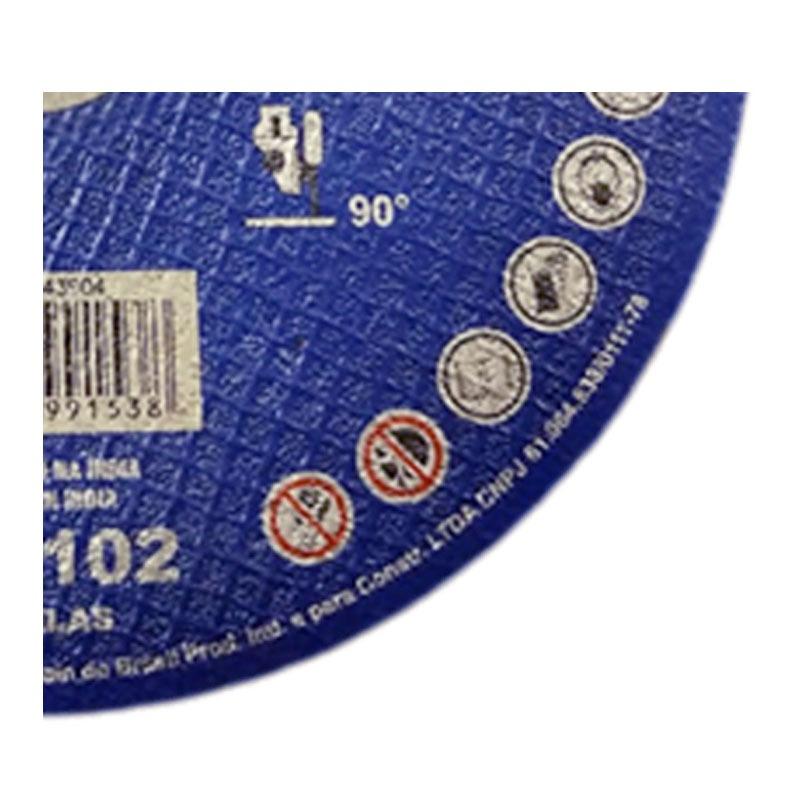 KIT 25 DISCO DE CORTE 178X1.6X22.2 CLASSIC AR 102  NORTON