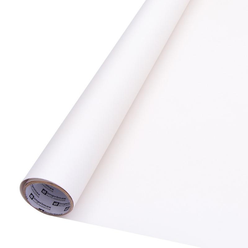Vinil Adesivo para impressão DIGIMAX branco SEMI-BRILHO 0. 10 Larg. 1,60 m