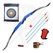 Arco Recurvo Prana Gold Medal 3 Flechas Protect Contenc Cera