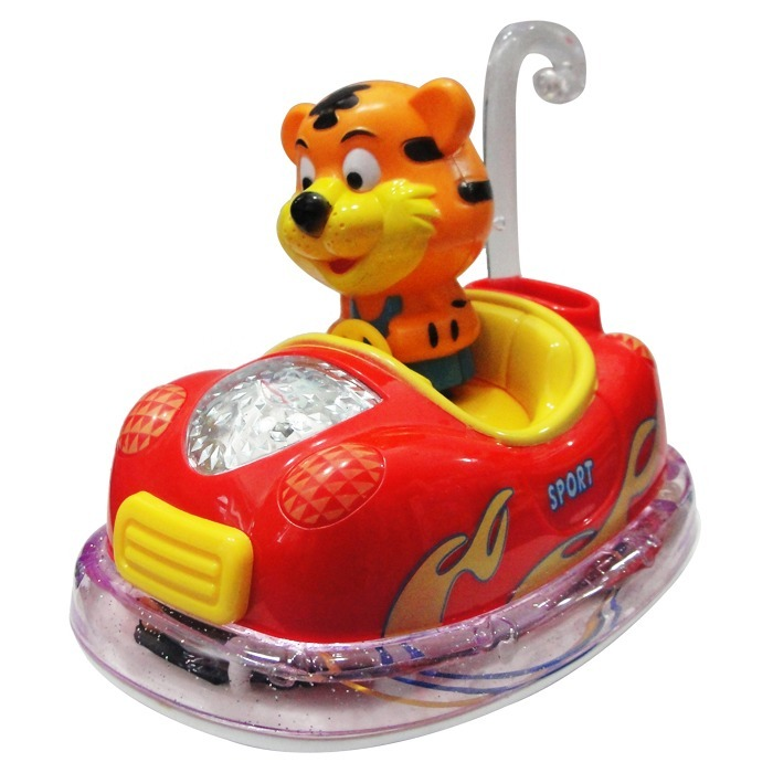 Auto Tigre Leon Salva Obstaculos Musical Luces Movimiento