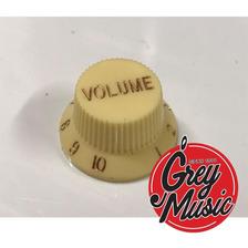 Perilla Sambong Kn005v-cr Guitarra Stratocaster Volume Crema
