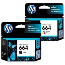 Combo Hp 664 Original Negro Y Color 3635 4535 2135 2675 3775