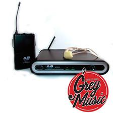 Micrófono Ab Audio Uf-01h Inalambrico Uhf Vincha