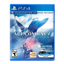 Ace Combat 7 Skies Unknown Ps4 Fisico Nuevo Original Sellado