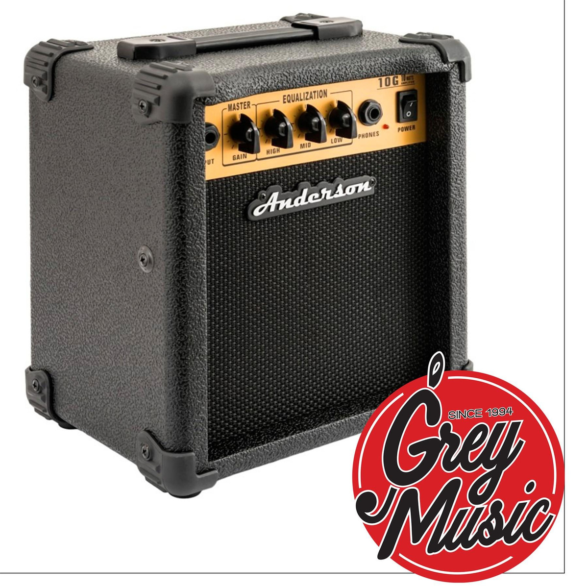 Amplificador Anderson G-10 And Para Guitarra 10 Watts 5