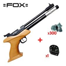 Pistola Co2 Fox Aire Comprimido + Cargador 7 Tiros + Balines