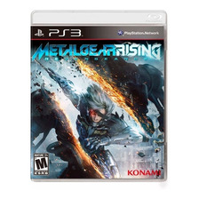 Metal Gear Rising Revengeance Ps3 Fisico Original Sellado