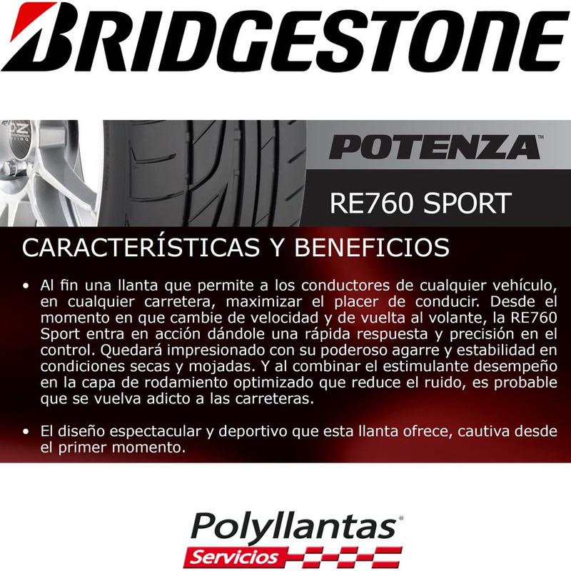205-55 R16 91W Potenza Re 760 Sport  Bridgestone